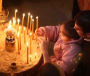 ISTANBULLU ORTODOX HRISTIYANLAR BUGUN PASKALYA YORTUSUNU KUTLADI  FOTO: FERHAT ULUDAGLAR